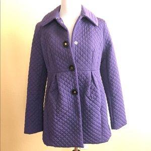 Betsey Johnson purple bow winter jacket